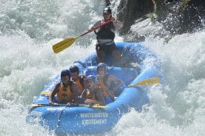 rafting on the Middle Fork of the American River