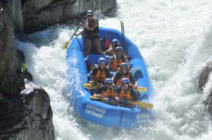 rafting the Middle Fork of the American river
